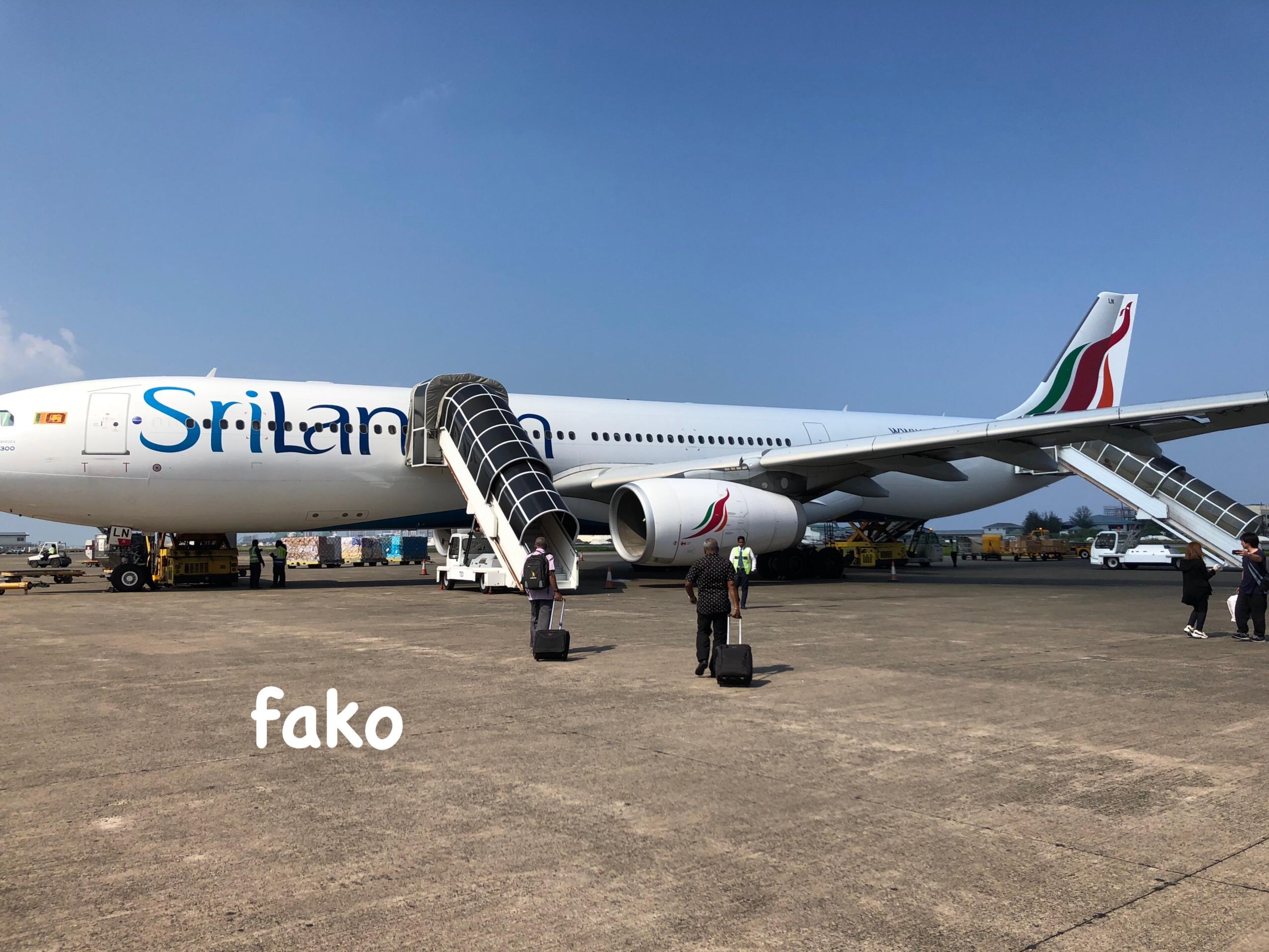 遅延や機内設備は?】モルディブハネムーンのスリランカ航空搭乗レポ ...